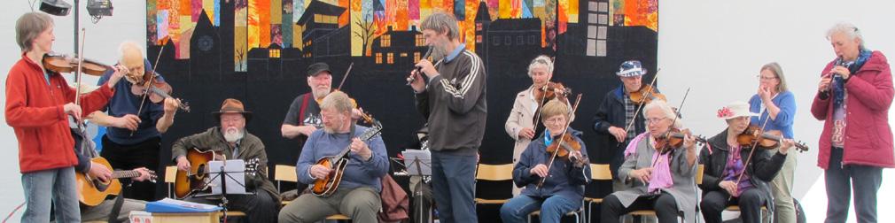 Folkets Hus Spillefolk under sejlet på Kulturstationen Vanløse 2015