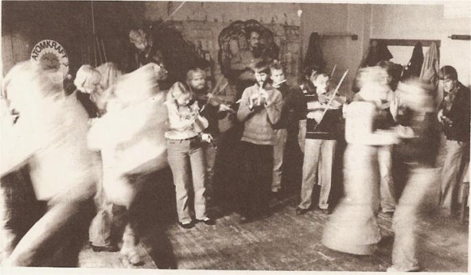 Dans i Caféen fra Folkets hus plade 1981