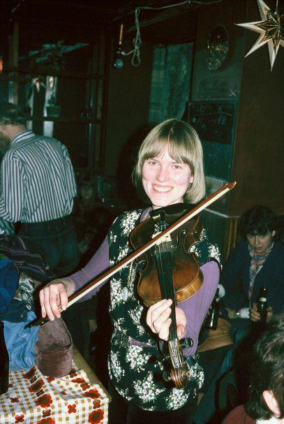 Helle på drivhuset julen 1977